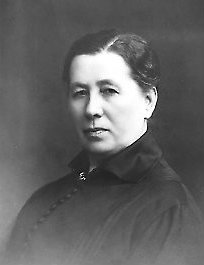 Miina Sillanpää, jykevä nainen. Kuva: Wikipedia